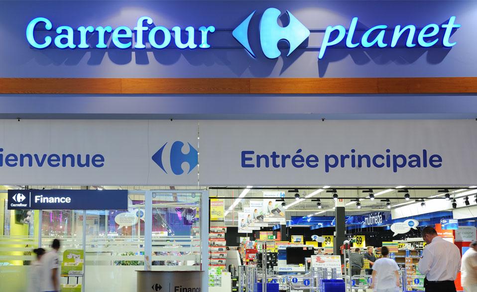 Le projet Carrefour Planet- Philips éclairage